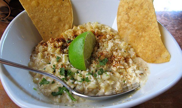 slow cooker mexican street corn