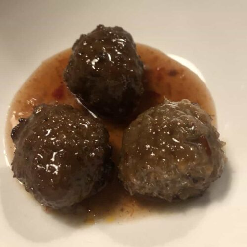 Sweet Chili Meatballs