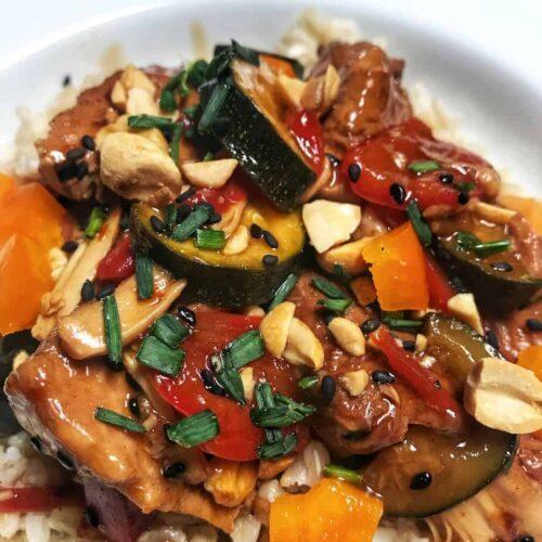 Crockpot Kung Pao Chicken