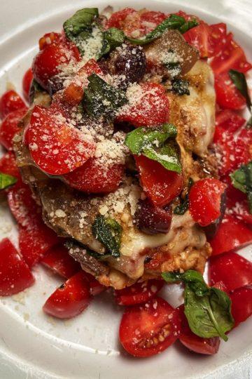 Slow Cooker Bruschetta Chicken
