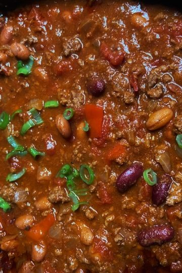 Slow Cooker Classic Chili