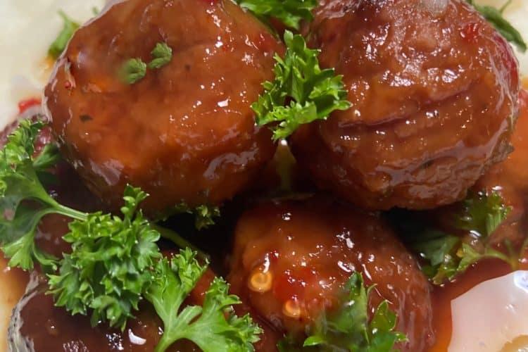 crockpot cranberry meatball
