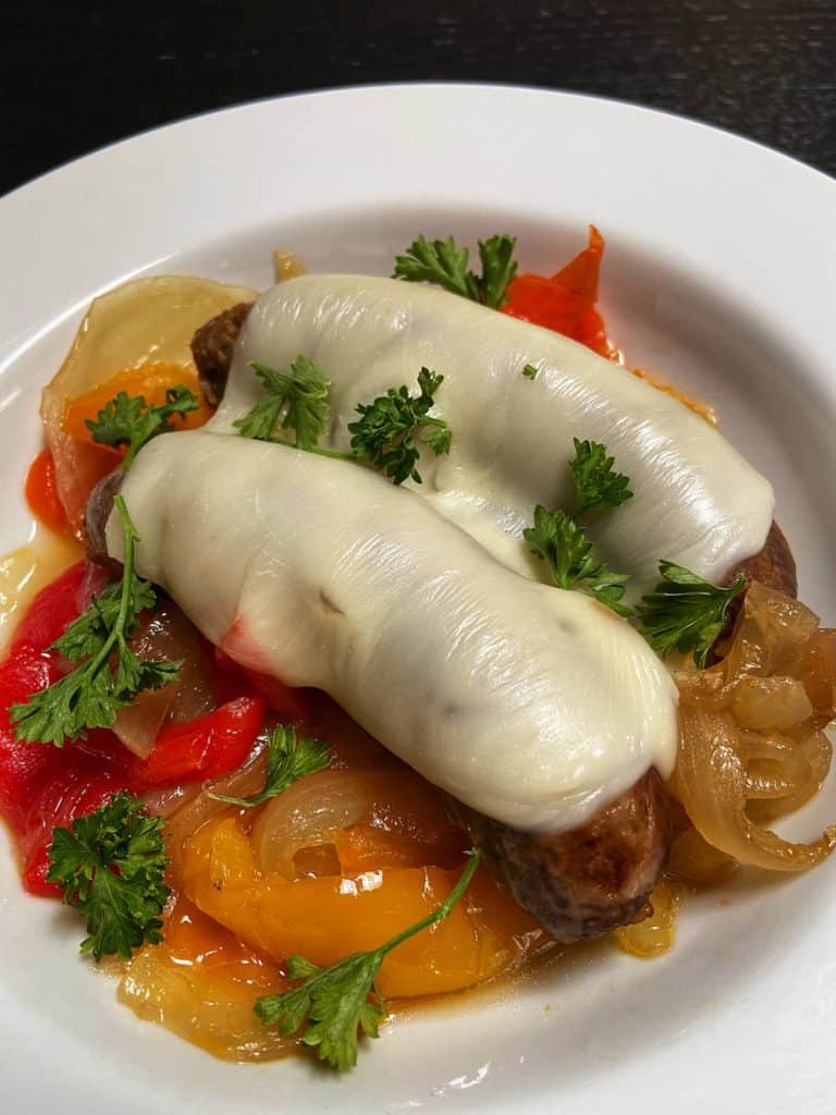 Italian Sausages and Peppers
