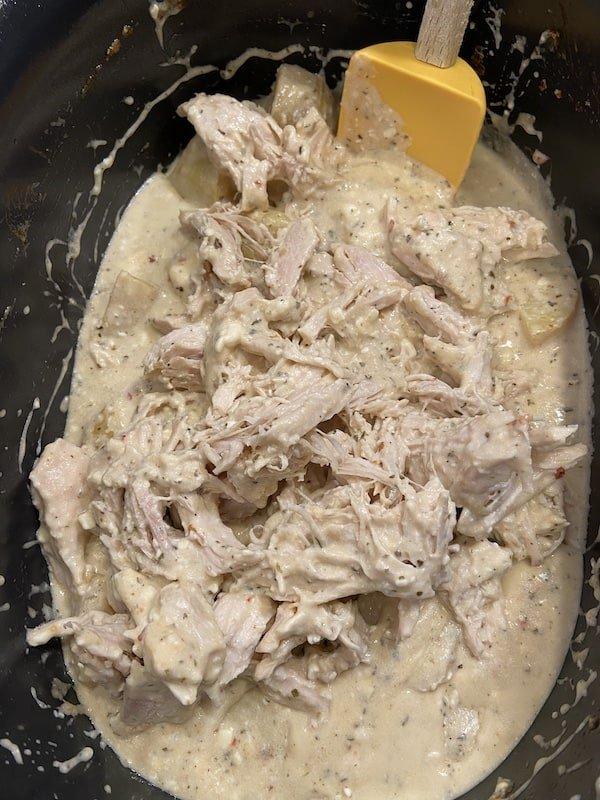 Crock Pot Parmesan Garlic Chicken and Potatoes