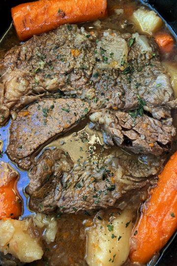 Tender Slow Cooker Pot Roast