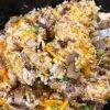 Easy Crockpot Chicken and Rice Casserole
