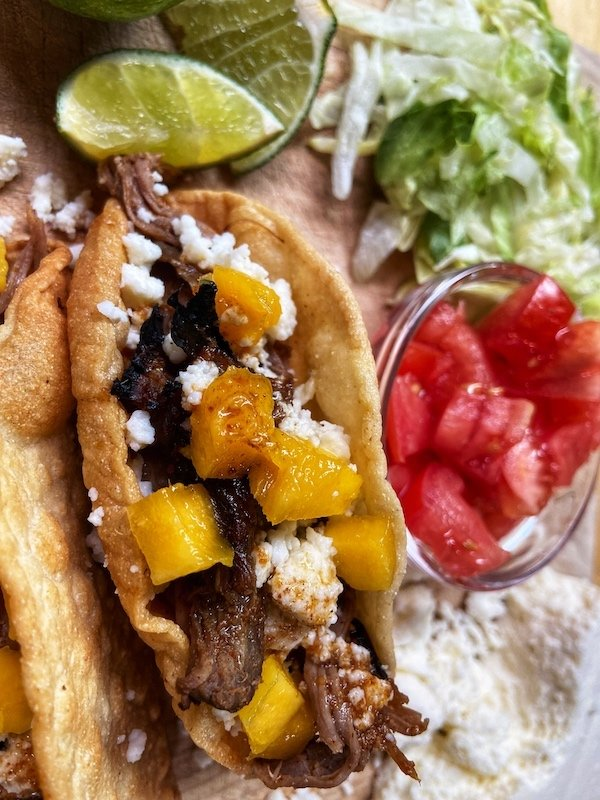 Crockpot Carne Asada Tacos